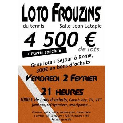 Grand loto du Tennis Club de Frouzins