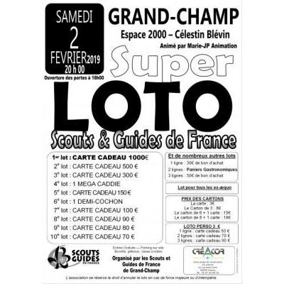 Super Loto des Scouts et Guides de France