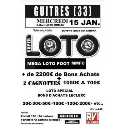 Super loto organisé par le MMFC