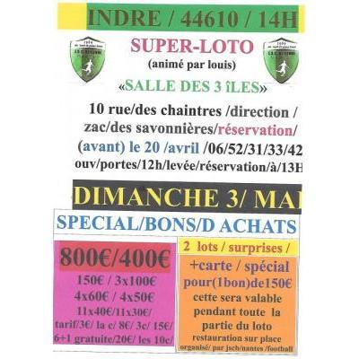 SUPER -LOTO / SPÉCIAL / BONS D ACHATS + DE 3000€