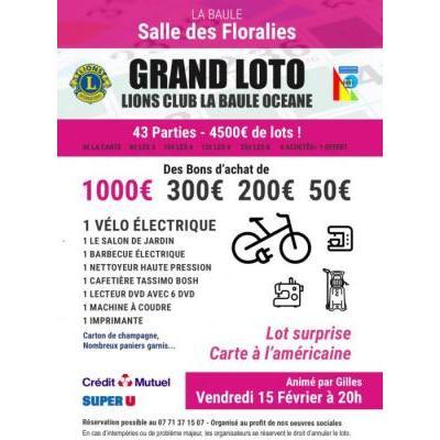 Grand Loto du Lions Club La Baule Océane