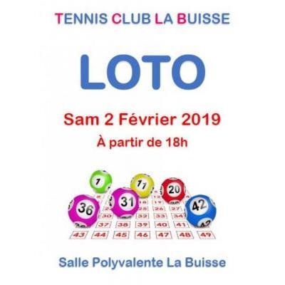 Grand Loto du Tennis Club de La Buisse