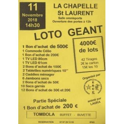 Super Loto Foot La Chapelle Chanteloup