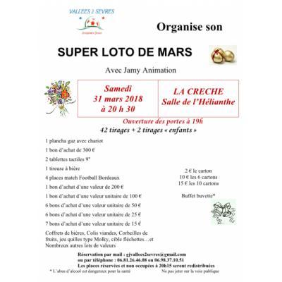 SUPER LOTO DE MARS