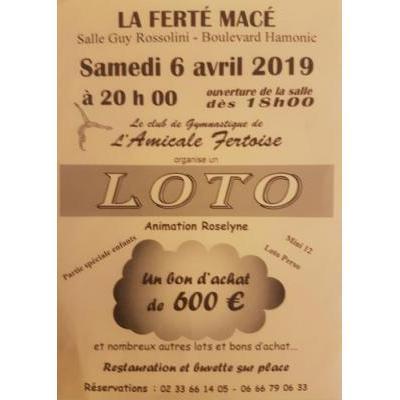 LOTO  Amicale Fertoise - Gymnastique