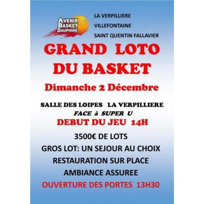 GRAND LOTO du BASKET