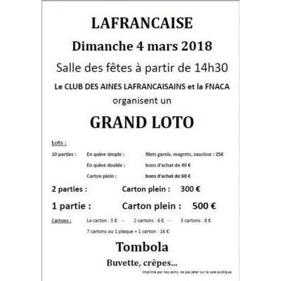 GRAND LOTO LAFRANCAISE
