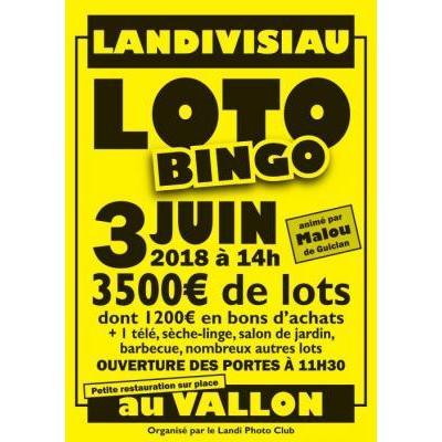 Loto Bingo animé par Malou de Guiclan