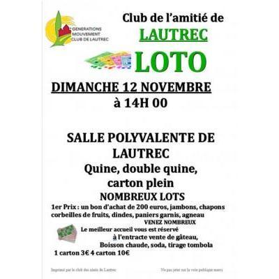 loto Generations mouvement club de l amitié