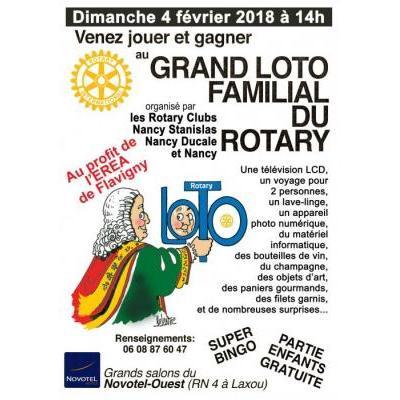 Loto 2018 des Clubs Rotary de Nancy