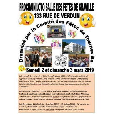 GRANDS LOTOS LE SAMEDI 2 ET DIMANCHE 3 MARS 2019