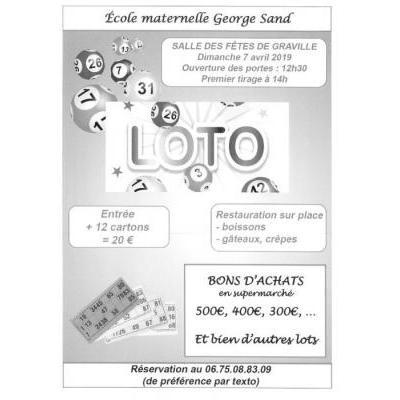 Grand loto de l'école maternelle George Sand