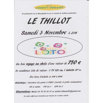 Loto d'anim'Thillot