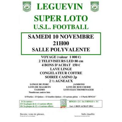 Loto USLéguevin football