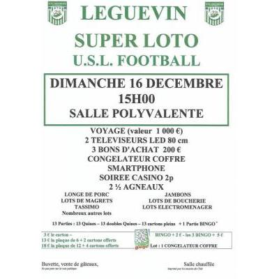 Super loto USLéguevin football