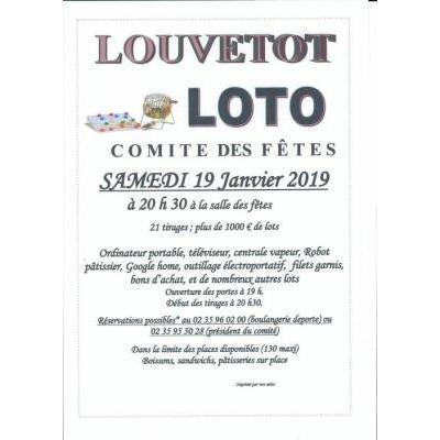 loto du comité des fêtes