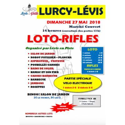 Loto -Rifles Levis en Piste