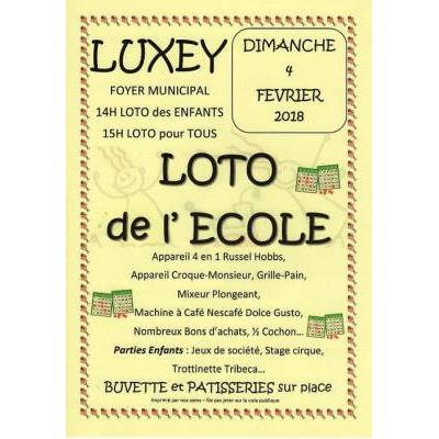 LOTO de L'ECOLE de LUXEY