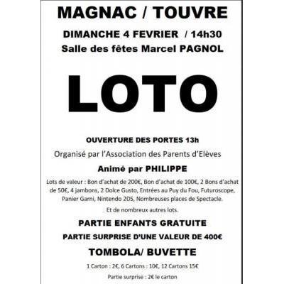 Loto de Magnac sur Touvre