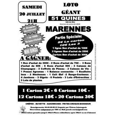 Loto Géant 51 quines