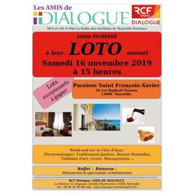 Grand Loto annuel de Radio Dialogue RCF
