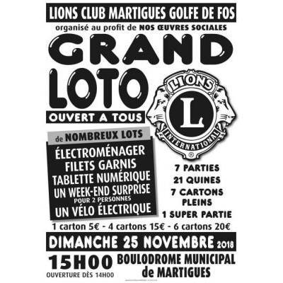 Grand Loto du LIONS CLUB MARTIGUES GOLFE DE FOS