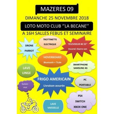 LOTO MOTO CLUB LA BÉCANE