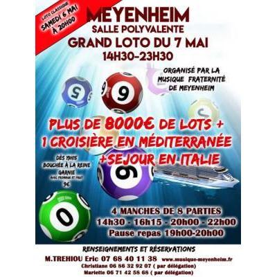 Grand loto 4 manches de la Société de Musique de Meyenheim