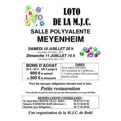 loto de la M.J.C.