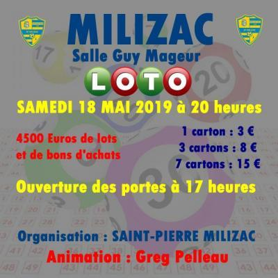 Super Loto de la saint-pierre milizac foot