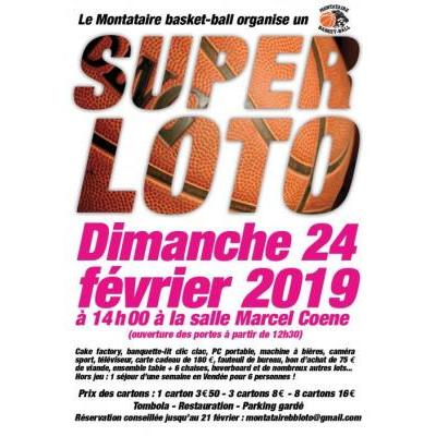 Super loto du Montataire Basket Ball