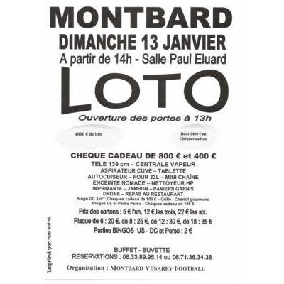 Loto de Montbard Venarey Football