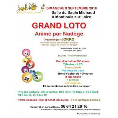 GRAND LOTO organisé par l'association JOKKO