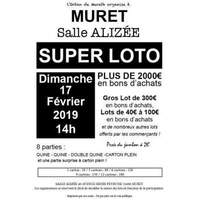 Super Loto organisé par l'Octan de Mureth