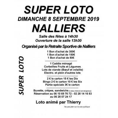 Super LOTO de la retraite sportive de NALLIERS