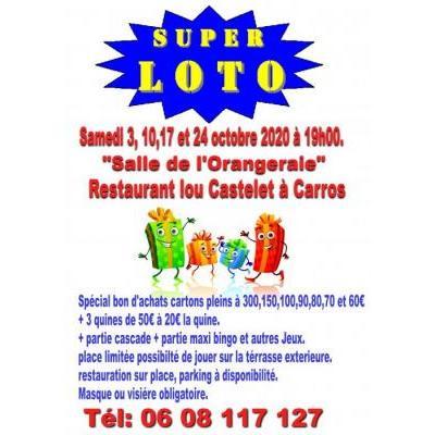Super Loto Spécial bon d'achats dont un de 300e (voir liste) à Carros