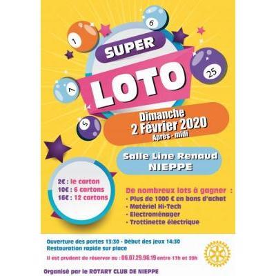 Grand loto du Rotary club de Nieppe
