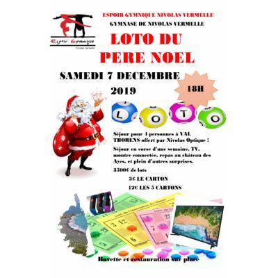 Loto du Père Noël - Espoir Gymnique Nivolas-Vermelle