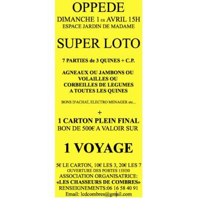 loto vaucluse 7 fevrier 2016