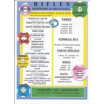 Rifles - Association Le Moulin Avant