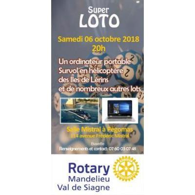 Super Loto du Rotary Mandelieu Val de Siagne