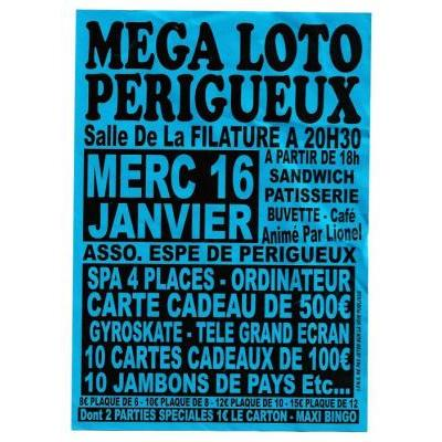 Mega loto périgueux