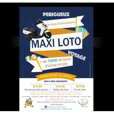 MAXI LOTO plus de 7000 e en bons d'achat et lots à Périgueux