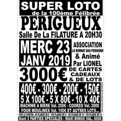 Super Loto Au Profit De La 100eme felibree