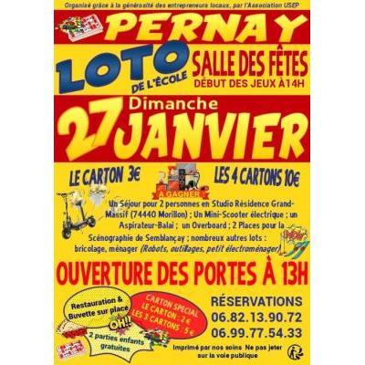 Loto de l'école de Pernay