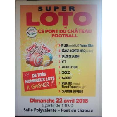 SUPER LOTO DE PRINTEMPS DU CSP FOOTBALL