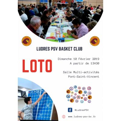 Grand Loto du Basket club Ludres PSV