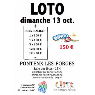 LOTO Bingo - Multisports