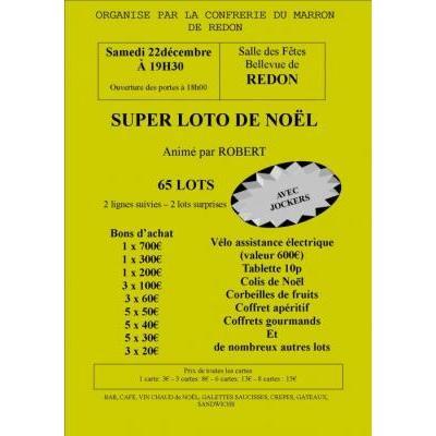 SUPER LOTO DE NOEL