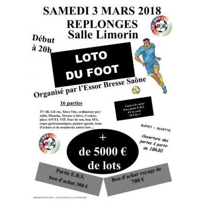 Super loto organisé par l'Essor Bresse Saône